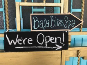 Baja Bliss Wellness Spa is open